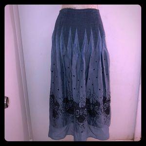 Lapis Skirt and Dress